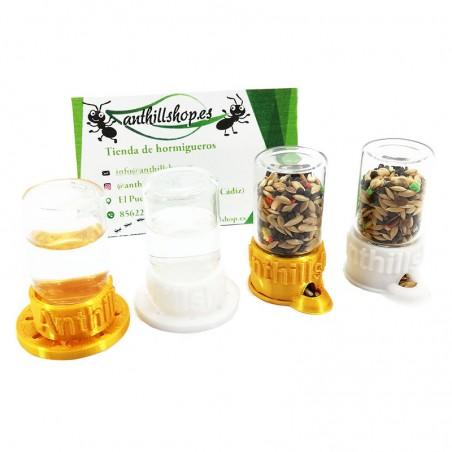 Bebederos 3D y Comederos 3D