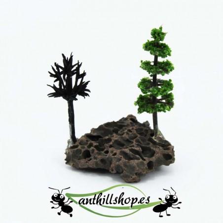 Árboles para decorar hormigueros